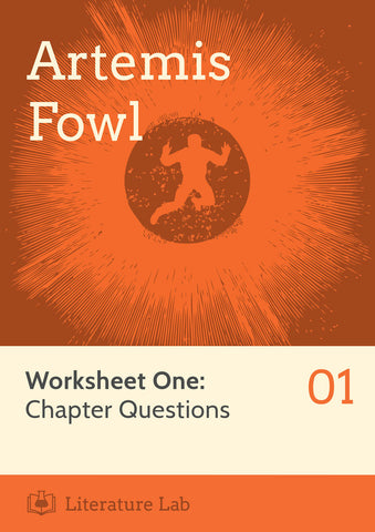 Artemis Fowl Worksheet - Chapter Questions