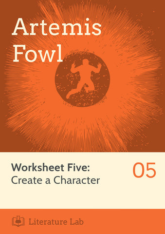 Artemis Fowl Worksheet - Create a Character