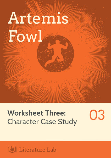 Artemis Fowl Worksheet - Character Case Study