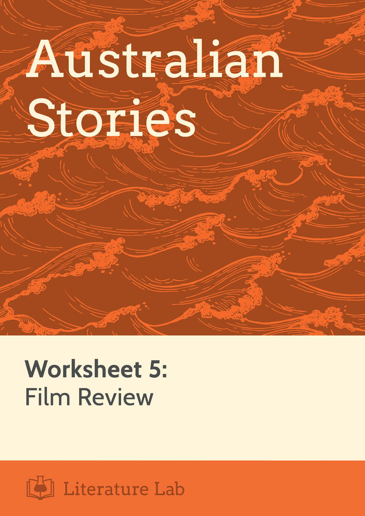 Australian Stories – Writing a Film Review Worksheet