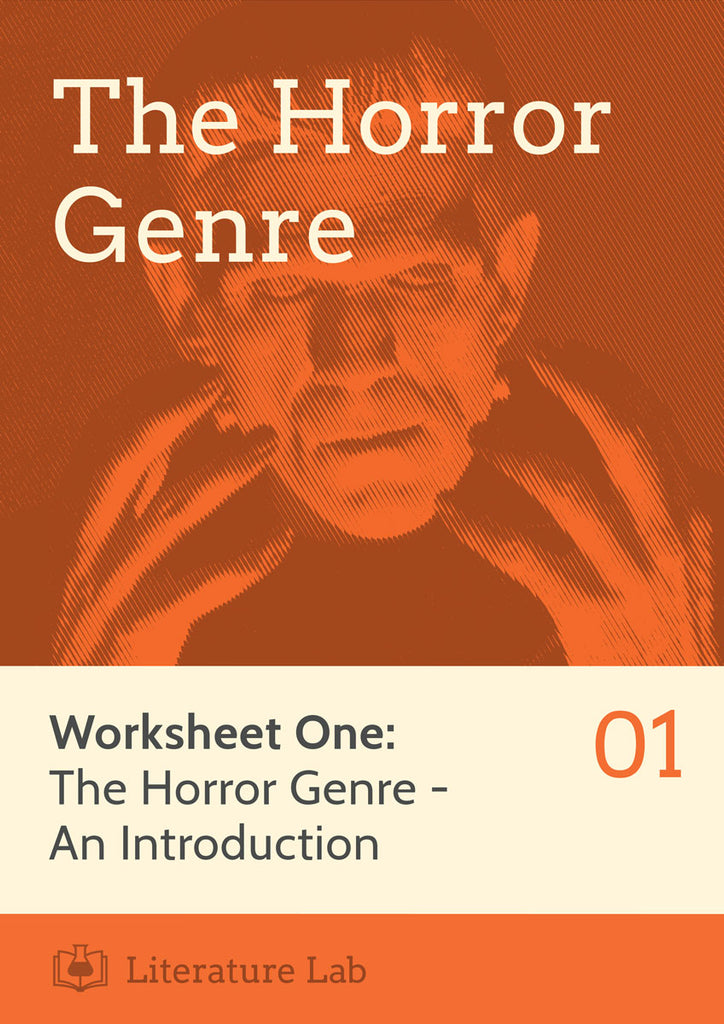 Horror Worksheet - Introducing the Horror Genre