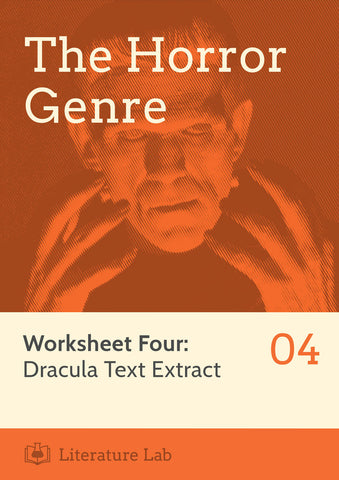Horror Worksheet - Dracula Text Extract