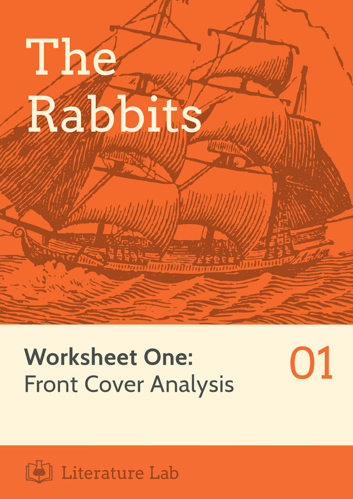 The Rabbits Worksheet - Front Cover Analysis