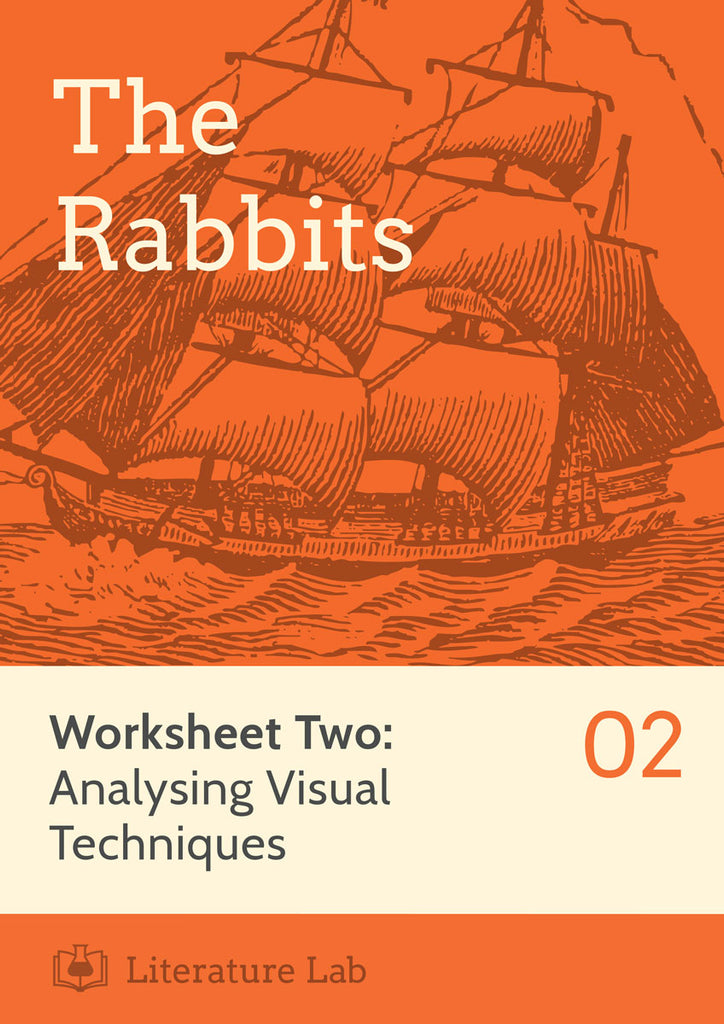The Rabbits Worksheet - Analysing Visual Techniques