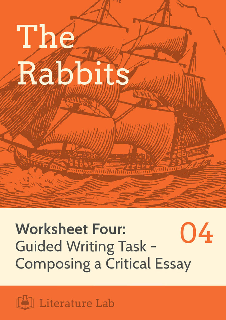 The Rabbits Guided Writing Task Worksheet & Essay Writing PowerPoint