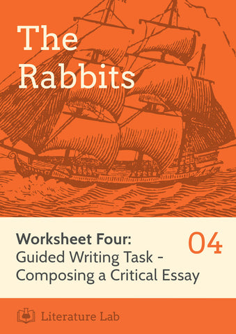 The Rabbits Worksheet: Guided Writing Task
