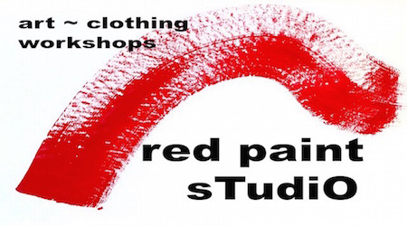 red paint studio