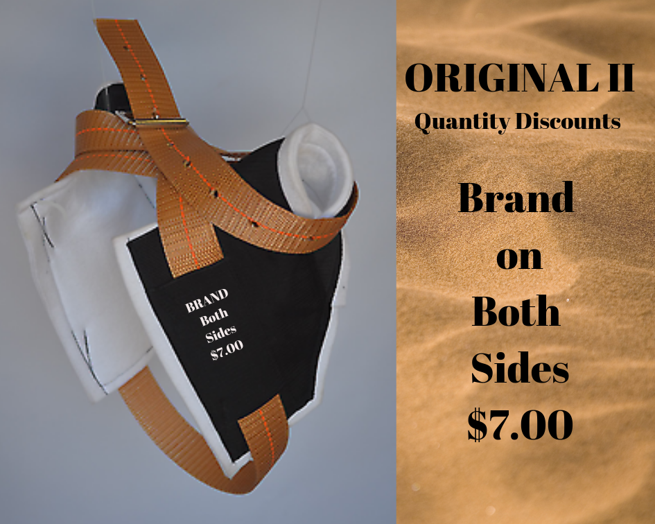 Original II Brand on Both Sides - Quantity Discounts