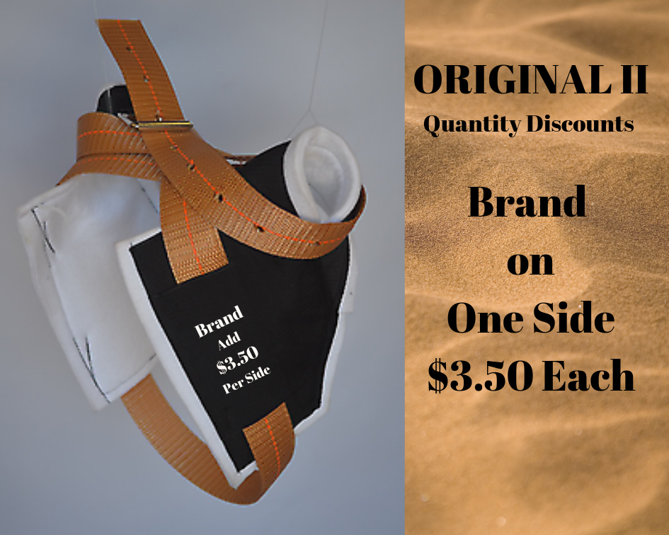 Original II-Brand on One Side - Quantity Discounts