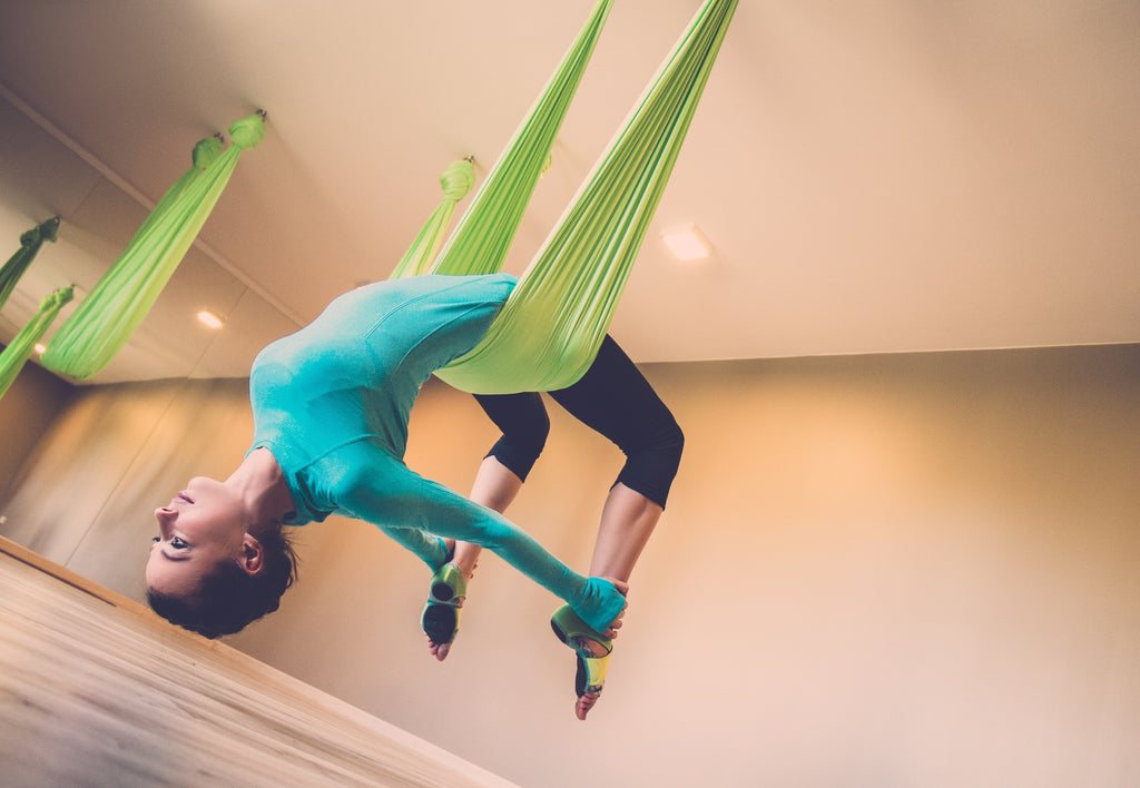 Aerial Yoga for Better Backbends