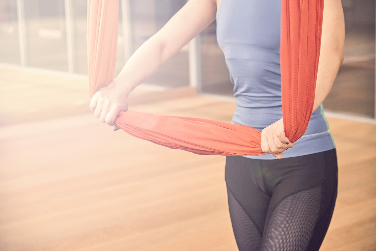 Aerial Yoga for Better Digestion