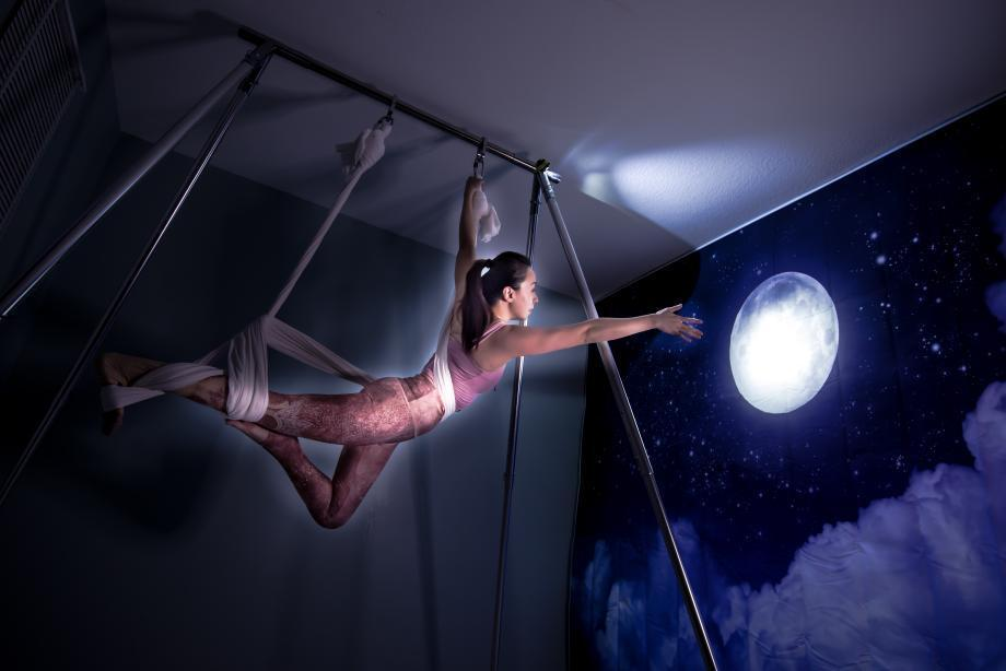 Spooky Aerial: How to Work with Fear in Your Aerial Career