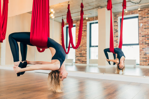 Top 5 Beginner Mistakes in Aerial Yoga Inversions