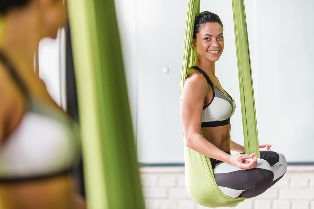 Aerial Yoga for Better Posture