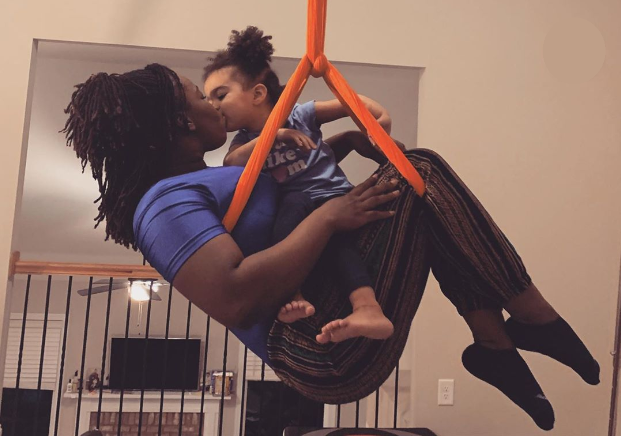 Flying High for Aerial Moms