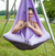 Elaine on Light Purple Aerial Yoga Hammock Set Portable Aerial Rig