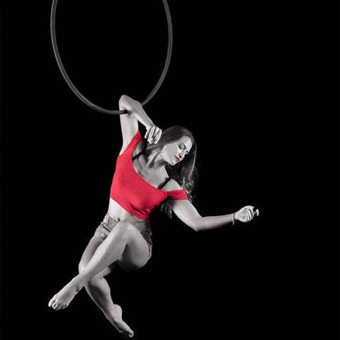 Uplift Active Aerial Hoop Photo from @float.fly.create