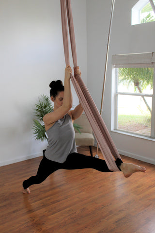 Girl doing Swinging Splits