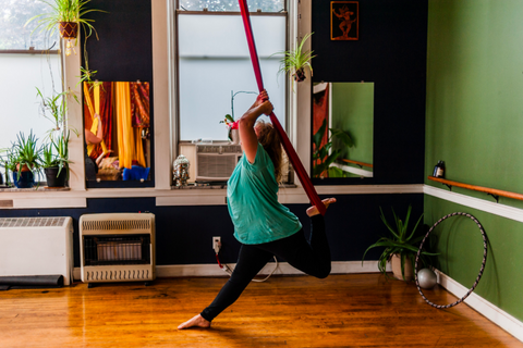 Aerial Yoga Stretch Home Studio
