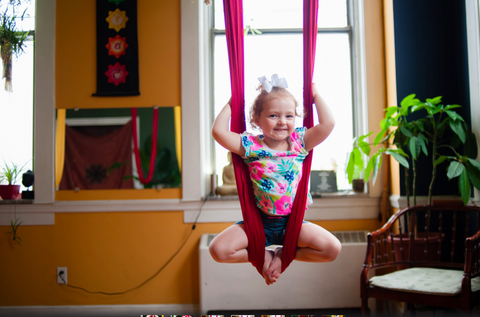 guide to your home aerial yoga space  aromatherapy