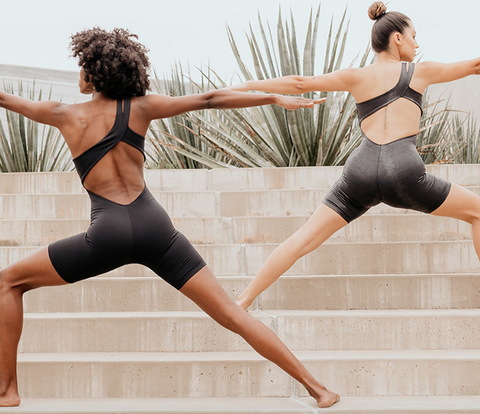 Nzinga Shine Bodysuit by SolelyFit athleisure for daily comfort and style