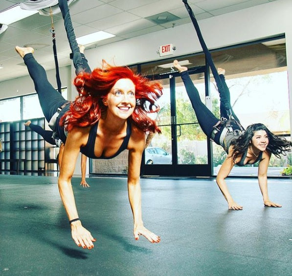 Tough Lotus Aerial Fitness and Bungee Workout