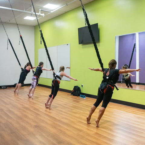 Uplift Active Bungee Fitness Group Workout
