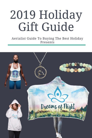 aerialist gift guide and aerial yoga gift ideas