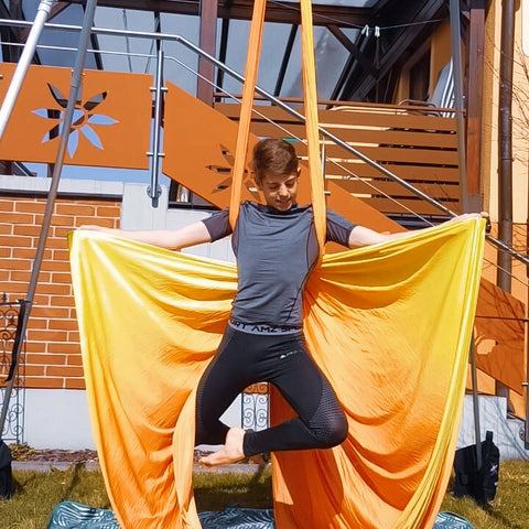 Sunset Ombre Aerial Silks