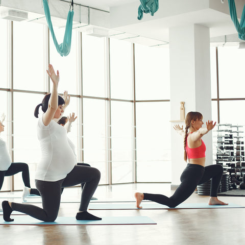 Aerial Yoga x Uplift Active