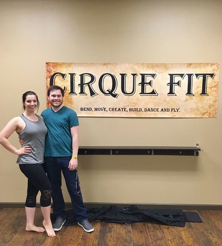 Jessalyn Hoffman on Cirque Fit Studio