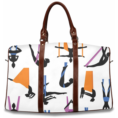Aerial Yoga Poses Travel Bag