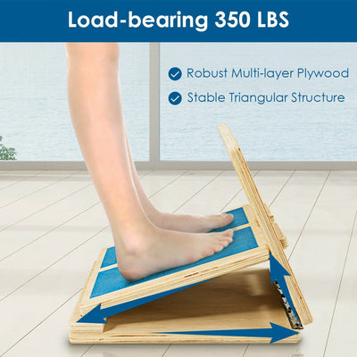 4 Level Adjustable Slant Wooden Board Sideview Uplift Active