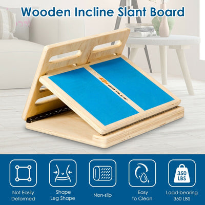 4 Level Adjustable Slant Wooden Board Functions Uplift Active