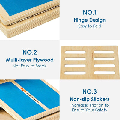 4 Level Adjustable Slant Wooden Board Details Uplift Active