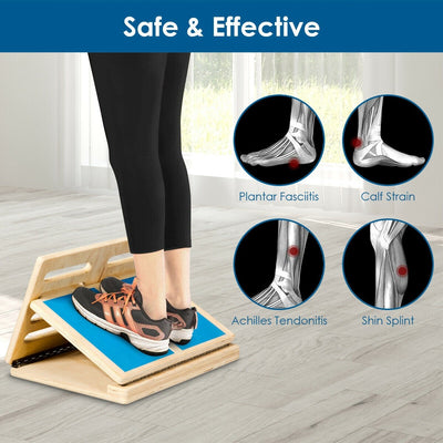 4 Level Adjustable Slant Wooden Board Safe and Effective Uplift Active