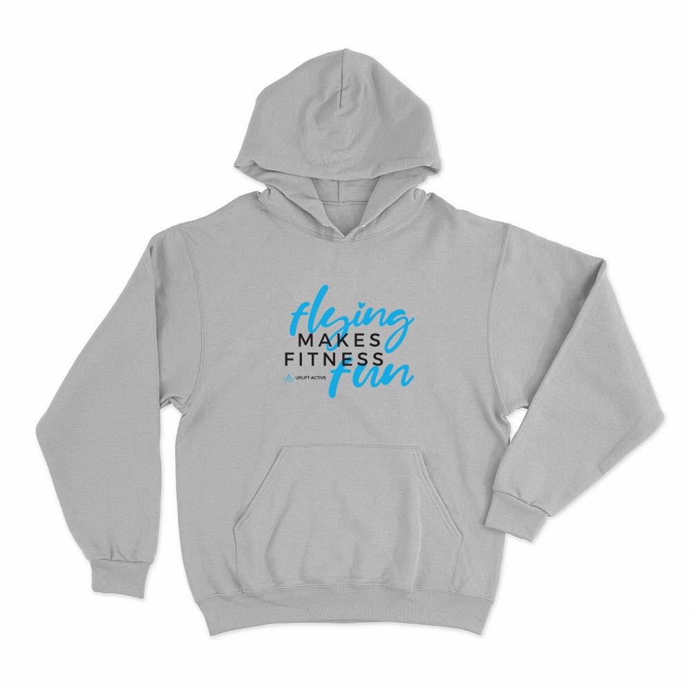 Flying Makes Fitness Fun Hoodie Pullover