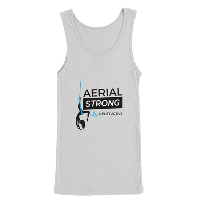Sport Grey Aerial Strong Aerial Yoga Tank Top- Uplift Active Aerial Silks Apparel