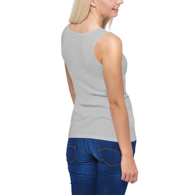 Grey Backview Mistress of the Silks Aerial Silks Tank Top - Uplift Active