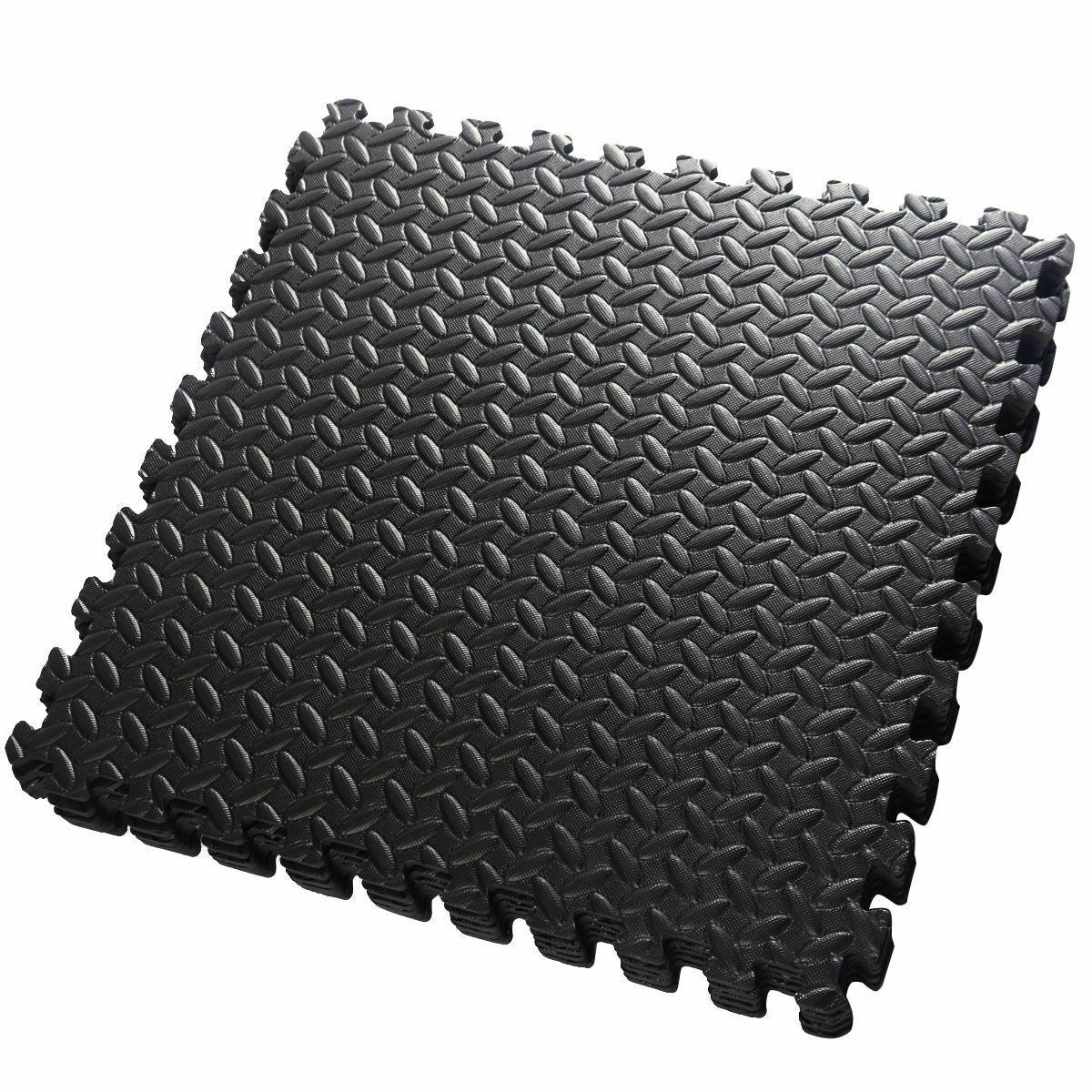EVA Foam Floor Interlocking Mat - 48 Sq Ft - Uplift Active