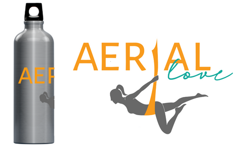 Aerial Love Water Bottle
