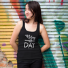 Belay All Day Print in White Aerial Silks Tank Top - Uplift Active