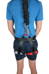 Bungee Fitness Harness Large Backview with Cord Uplift Active