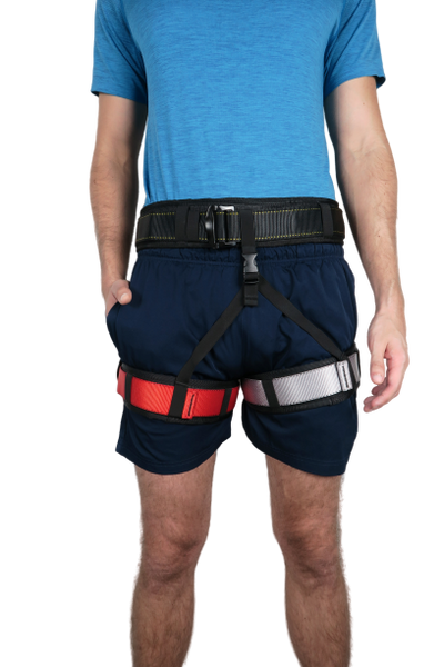 Bungee Fitness Harness Details Large Frontview Uplift Active