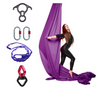 Dark Purple Aerial Silks Set with Hardware Uplift Active