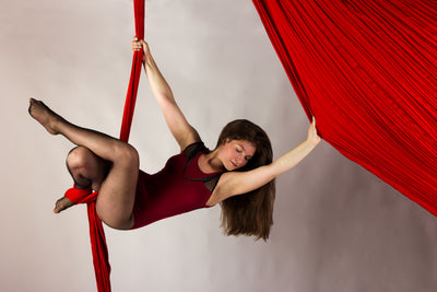 Nylon Tricot Aerial Fabric - Aerial Yoga Gear - Uplift Active