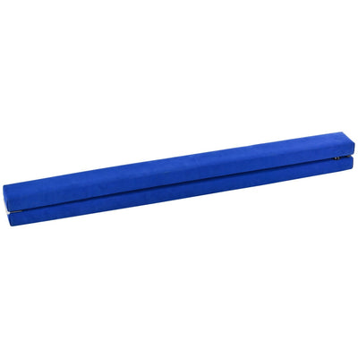 Blue Sectional Gymnastics Floor Balance Beam - 8 ft  - Uplift Active