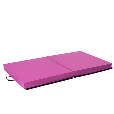 Sideview Gymnastic Fitness Exercise Thick Mat with Two Folding Panel- Uplift Active