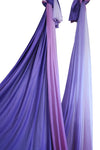 Purple Ombre Yoga Hammock Fabric Only Detail - Uplift Active