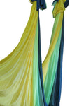 Yellow Green Ombre Yoga Hammock Fabric Only Detail - Uplift Active
